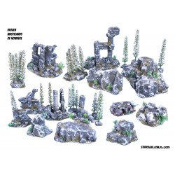 TOURNAMENT TERRAIN SET