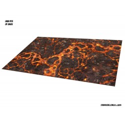 "LAVA MOUSEPAD: 72""x48"" RIVER TOURNAMENT GAME MAT (6'x4')"